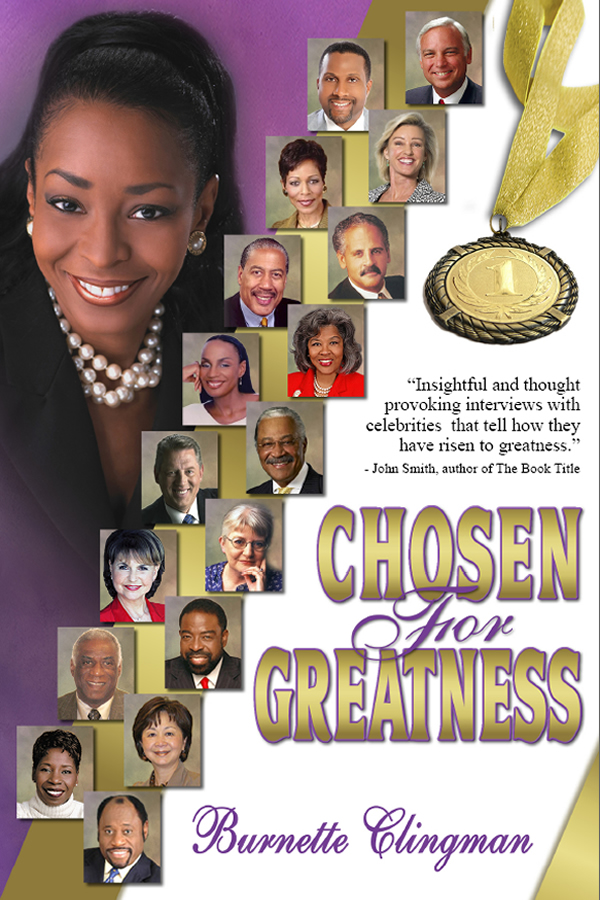 Cover design for Chosen for Greatness