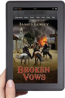 Cover Design for Broken Vows eBook