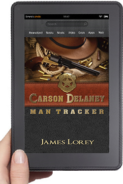 Cover Design for Carson Delaney eBook