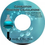DVD Label Design Combustion Reaction Calculations