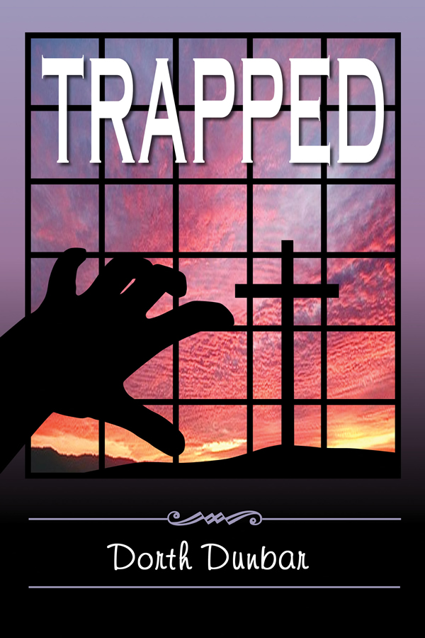 Cover design for Trapped