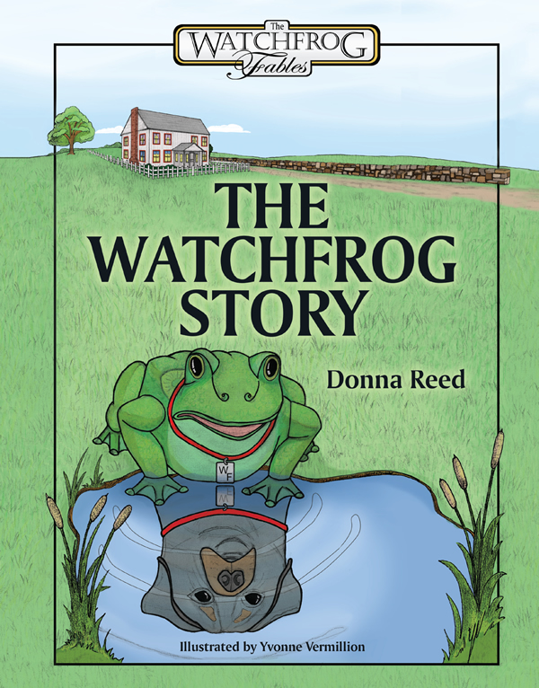 Illustration and Cover design for The WatchFrog Story