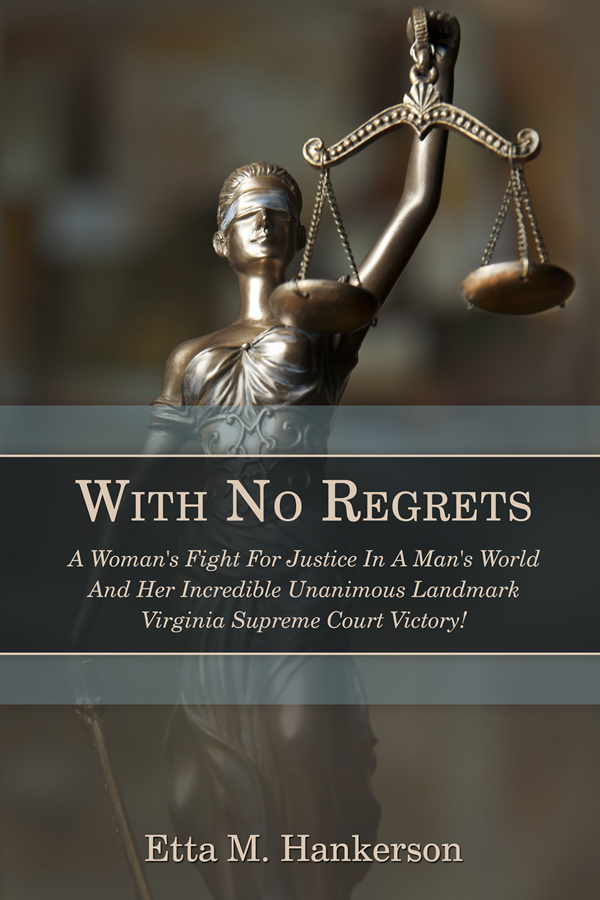 Cover Design for With No Regrets