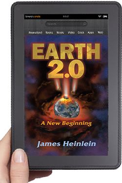 Cover Design for Earth 2.0 eBook