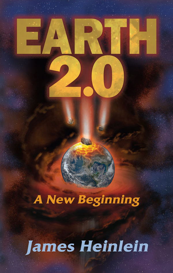Book Cover Design for Earth 2.0
