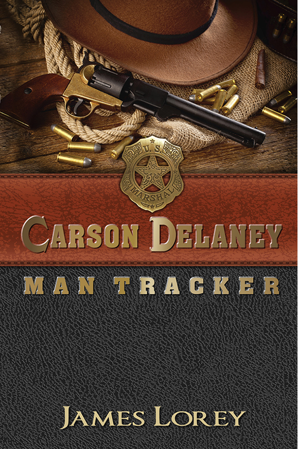 Book Cover Design for Carson Delaney