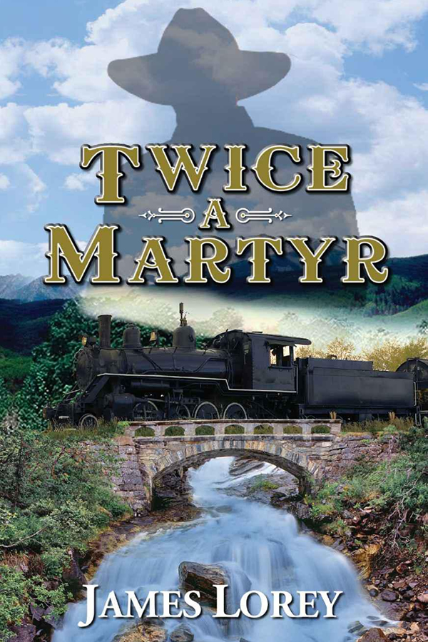 Cover Design for Twice A Martyr