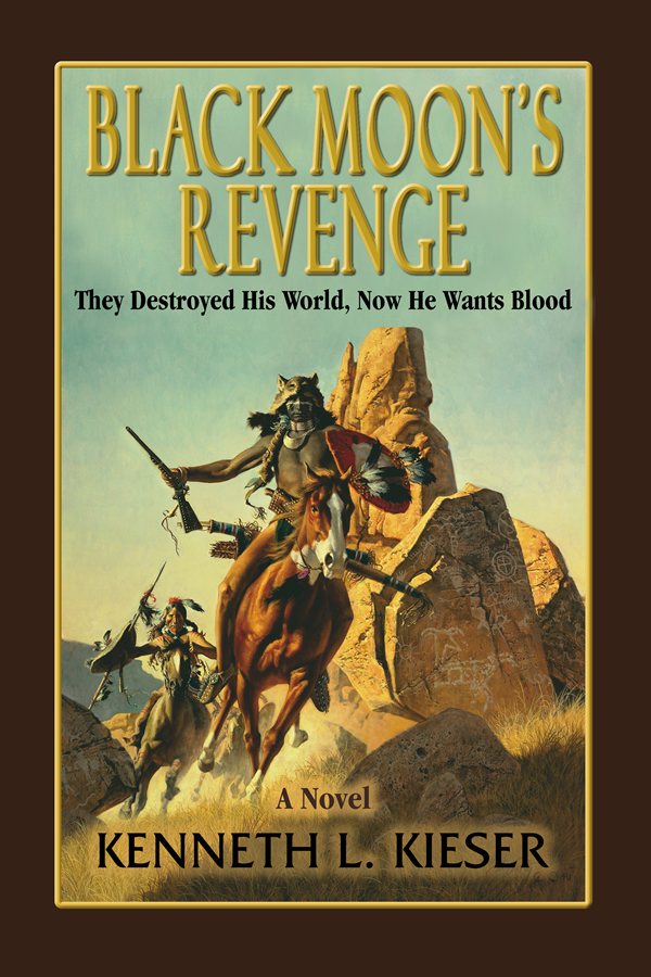 Cover design for Black Moon's Revenge