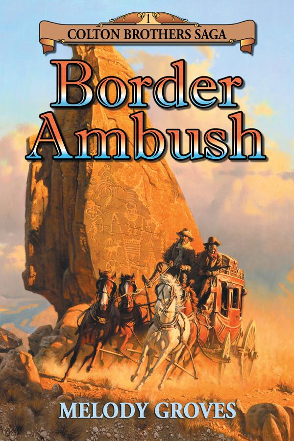 Cover Design for Border Ambush