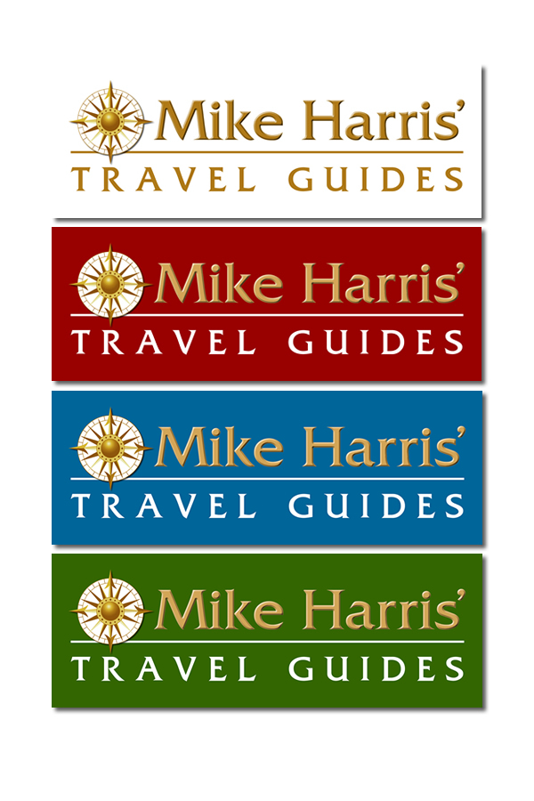Logo design Mike Harris' Travel Guides