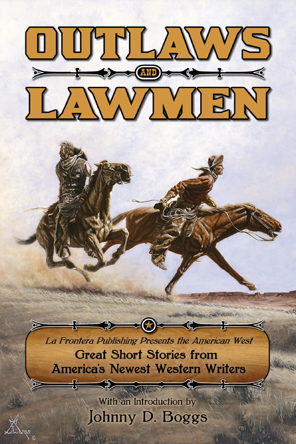 Cover design for Outlaws and Lawmen