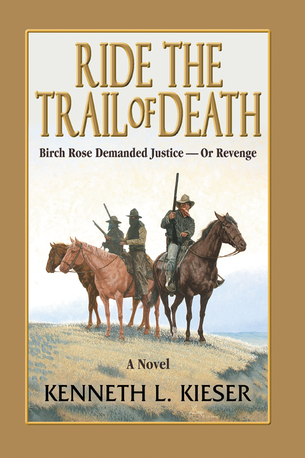 Cover design for Ride The Trail of Death