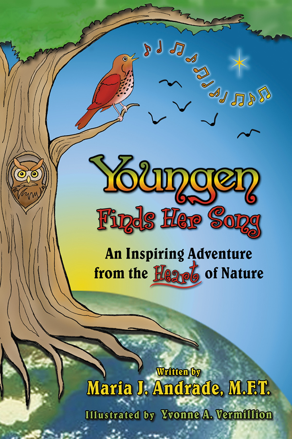 Cover illustration and design for Youngen Finds Her Song