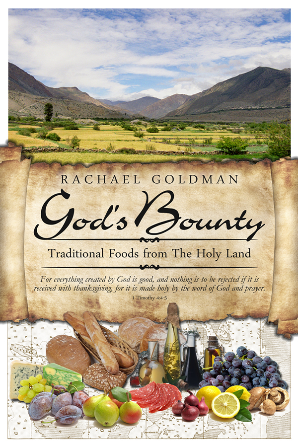 Cover design for God's Bounty Cookbook