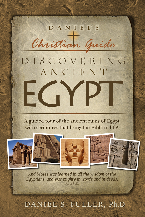 Cover design for Discovering Egypt