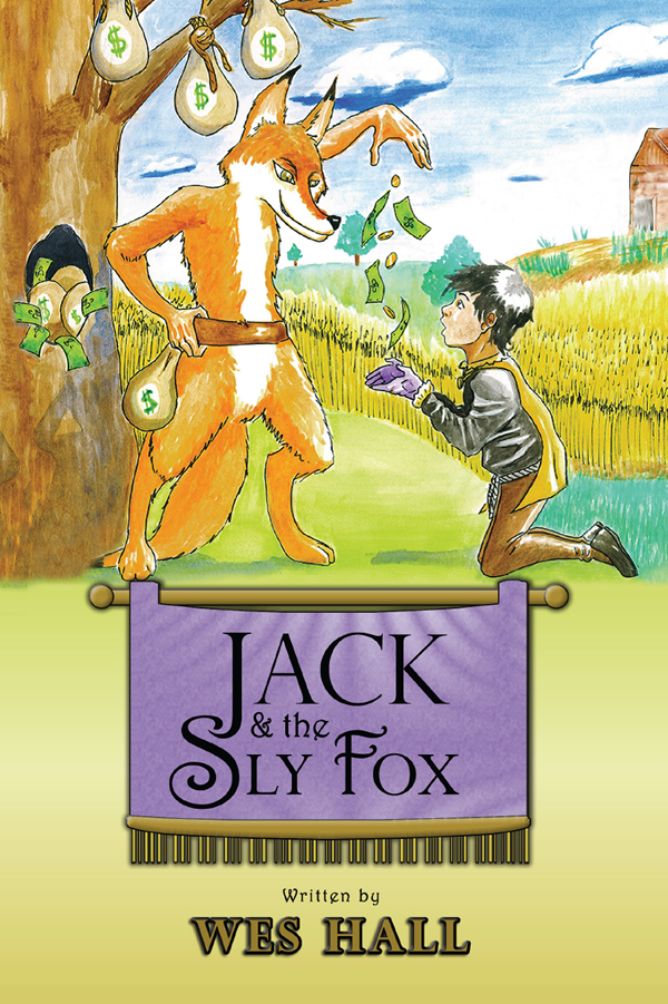Cover design for Jack and the Sly Fox