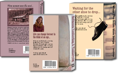 Samples of book back cover designs
