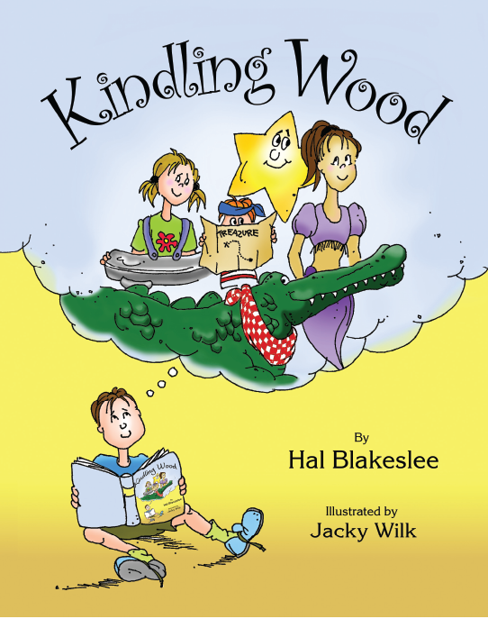 Cover Design for Kindling Wood
