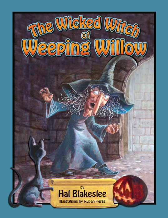 Cover design for The Wicked Witch of Weeping Willow