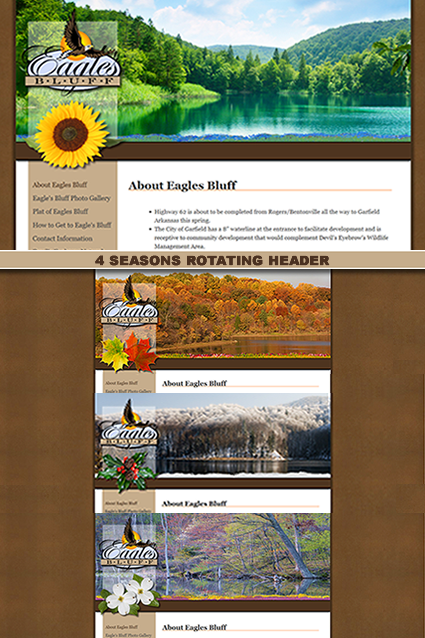 EaglesBluff.net Website Design & Development