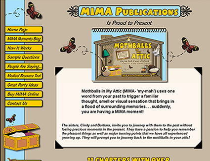 Website Design for Publisher MIMA Publications