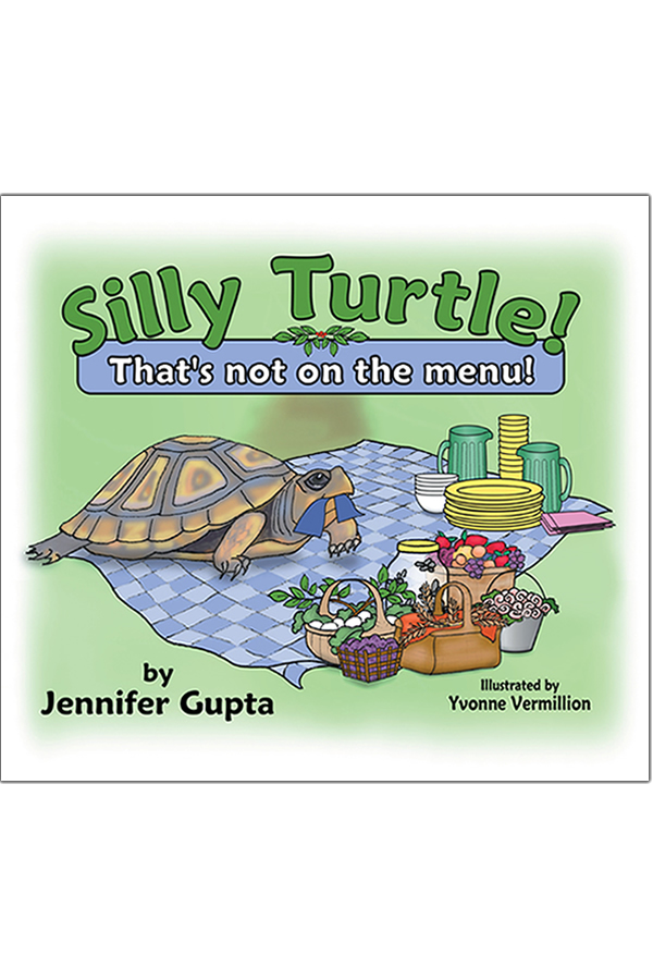 Cover Design for Silly Turtle That's Not On The Menu