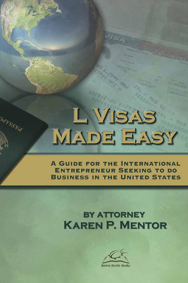 Cover design for L Visas Made Easy