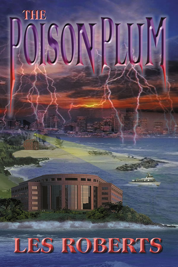 Cover design for Poison Plum