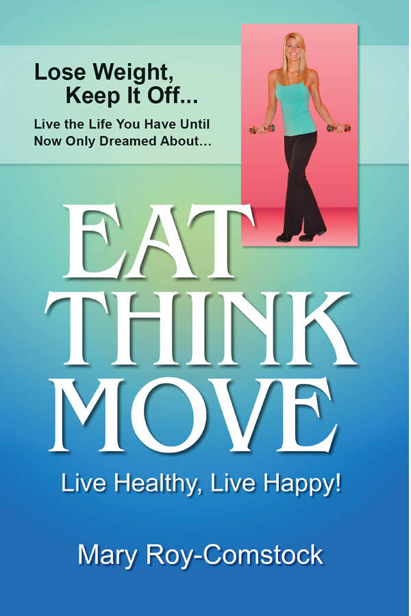 Cover design for Eat Think Move