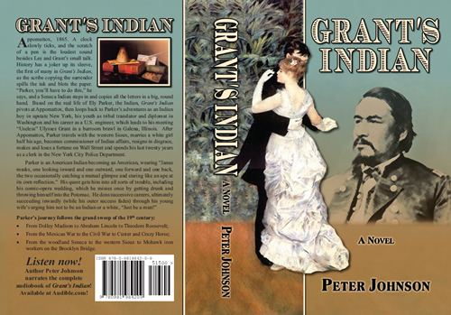 Complete cover design for Grant's Indian