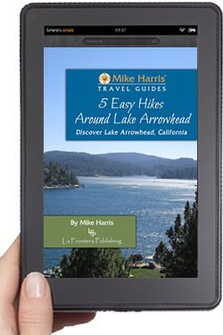 eBook Cover 5 Easy Hikes Around Lake Arrowhead Travel Guide