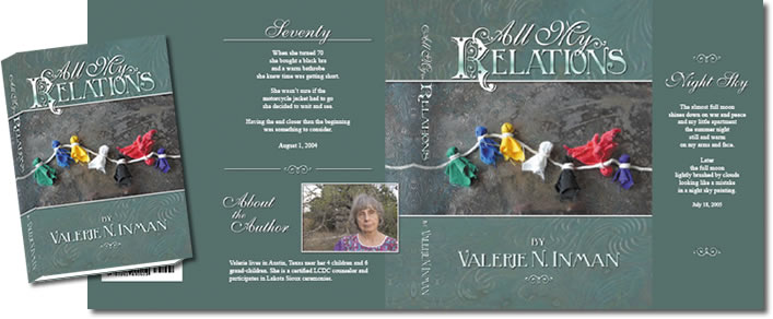Complete Dust Jacket Design for All My Relations