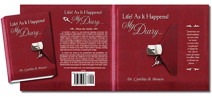 Complete Dust Jacket Design for Life As It Happens!