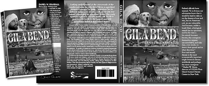 Complete Dust Jacket Design for Gila Bend