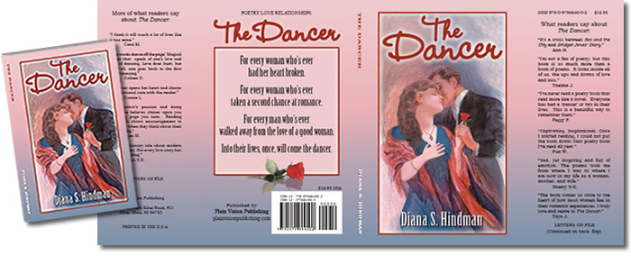 Complete Dust Jacket Design for The Dancer