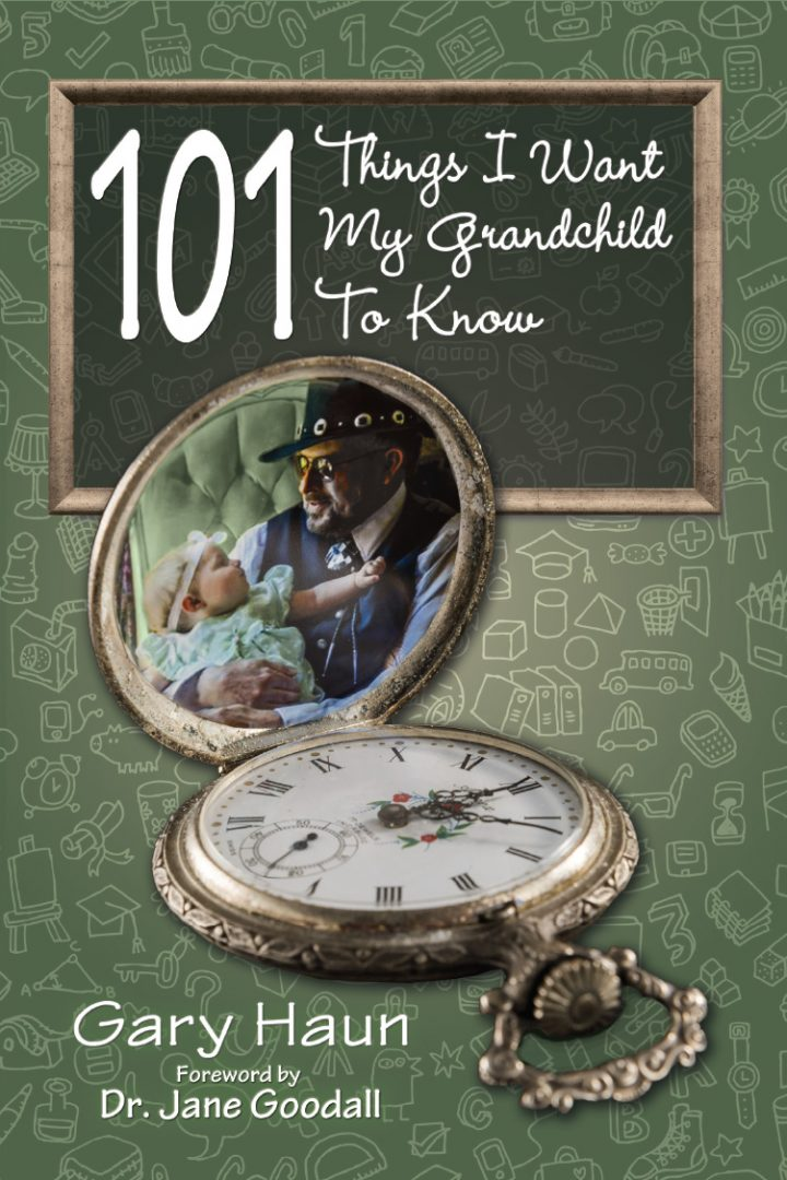 101 Things I Want My Grandchildren to Know Cover Design