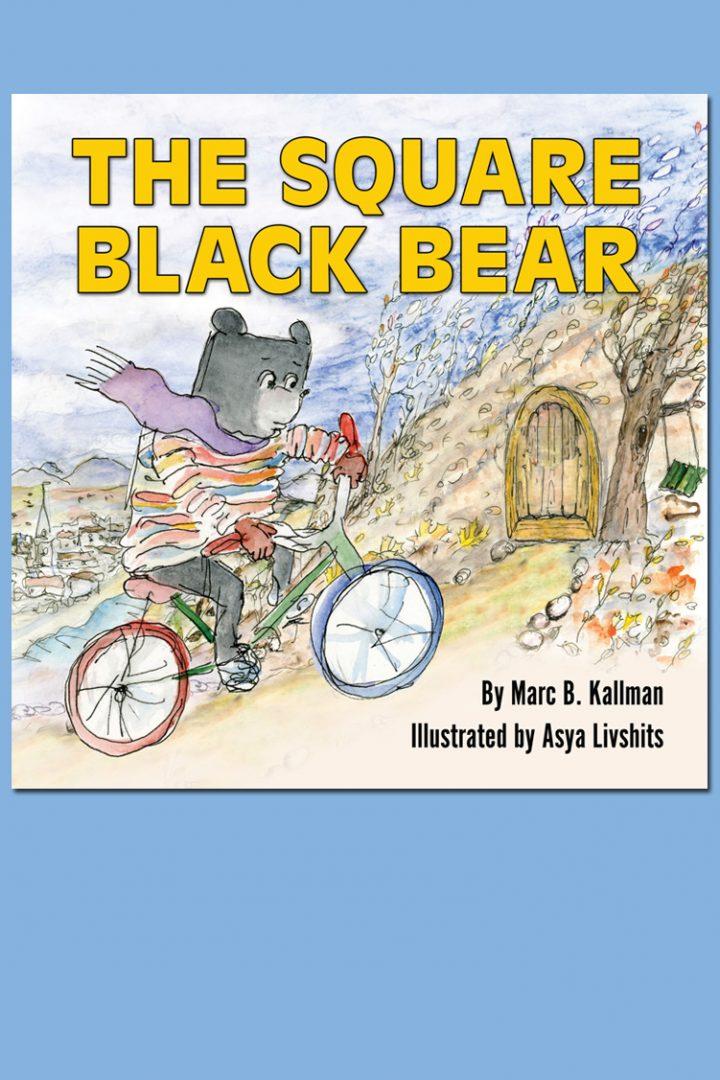 Square Black Bear Cover Design