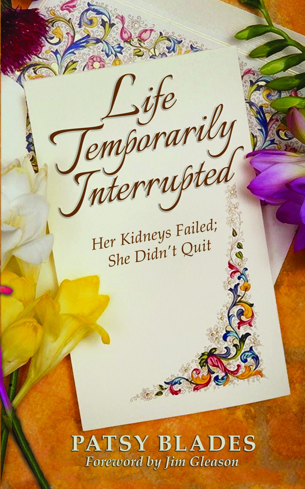 Life Temporarily Interrupted Cover Design